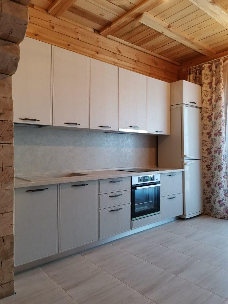 Кухонный гарнитур. Фасады из МДФ в плёнке